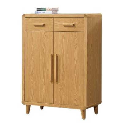 ROSA羅莎 羅伊原木色2.7尺鞋櫃