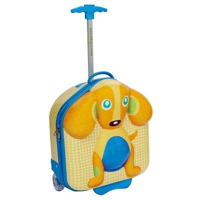 瑞士OOPS 狗狗快樂拉桿包包
