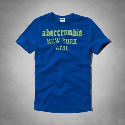 AF a&f Abercrombie & Fitch 短袖 小孩T 藍色 022