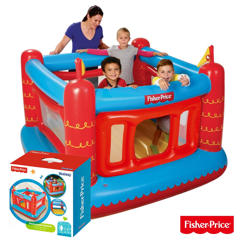 《凡太奇》Fisher-Price。城堡造型充氣球池/遊戲池 93504