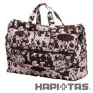HAPI+TAS 愛麗絲派對摺疊旅行袋(小)-粉