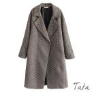 長版寬鬆開衫外套 TATA