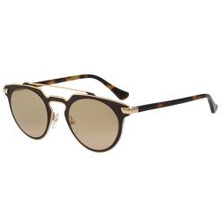 Calvin Klein- 復古款太陽眼鏡(琥珀配金)