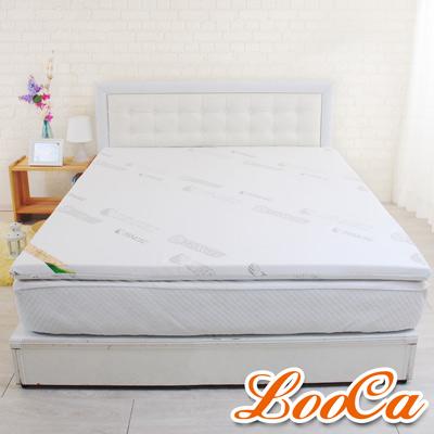 LooCa 親膚天絲HT高規5cm乳膠床墊-雙人5尺
