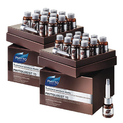 PHYTO髮朵 15賦活煥髮安瓶3.5ml 二盒特惠組(24入)