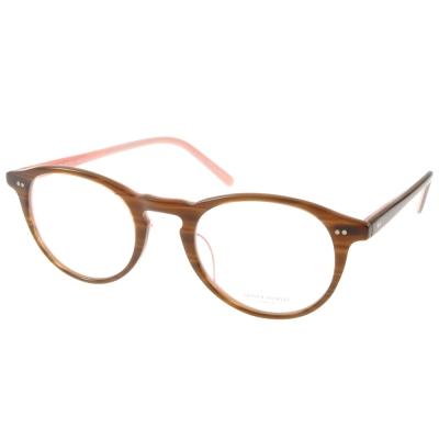 OLIVER PEOPLES眼鏡 好萊塢星鏡/咖啡棕#RILEY-K 1273
