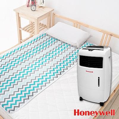 美國Honeywell移動式空氣水冷氣- CL25AE 送床墊下3D AIR透氣單人床墊