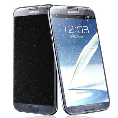 Samsung Galaxy Note 2 N7100 魔幻鑽石螢幕保護貼 螢幕貼(一入)