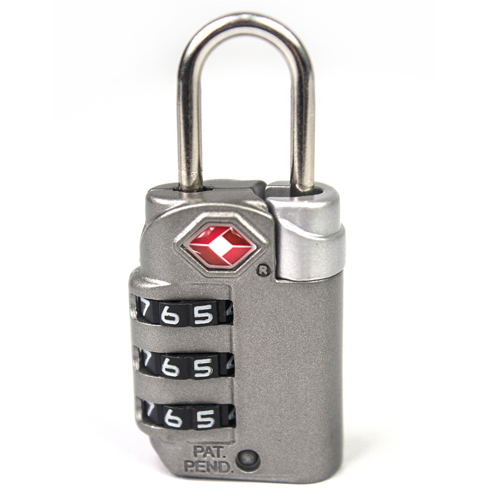 YESON 旅用海關三碼鑰匙鎖 MG-2510 product image 1