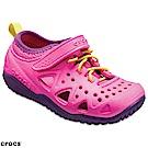 Crocs 卡駱馳 (童鞋) 激浪涉水涼鞋 204989-6L0