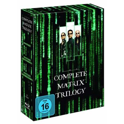 駭客任務 合集 The Complete Matrix Trilogy  藍光 BD