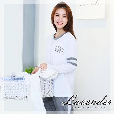 睡衣 學生情人居家情侶款睡衣(女)Lavender