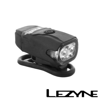 LEZYNE KTV DRIVE FRONT USB充電光學透鏡LED警示前燈(黑)