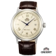 ORIENT 東方錶 DATEⅡ 皮帶機械錶-奶油色/40.5mm product thumbnail 1