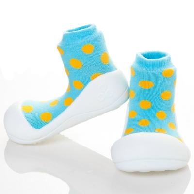 韓國Attipas 快樂學步鞋AD04-圓點藍