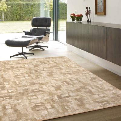 范登伯格 - 朝暘 進口地毯-渲染 - 淺棕 (中款-150 x 200cm)
