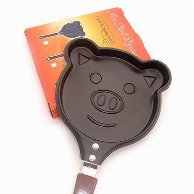 iSFun 可愛小豬豬 造型煎蛋煎餅鍋