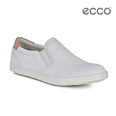 ECCO AIMEE 經典輕巧休閒鞋-白 @ Y!購物