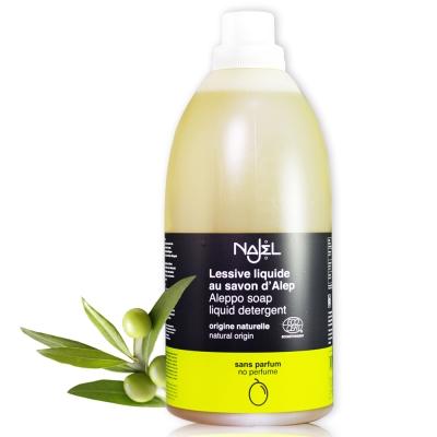 法國NAJEL阿勒坡皂天然低敏濃縮洗衣精2L(無香料)