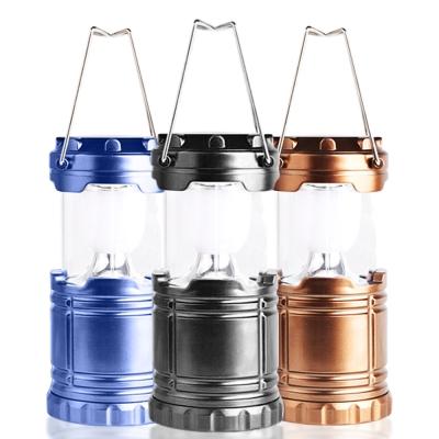 AWANA 太陽能LED伸縮露營燈(中型)x1入(三色可選)