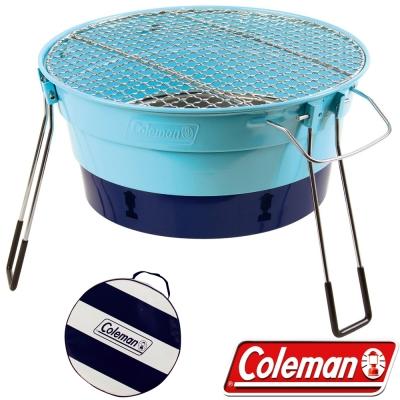 Coleman CM-27317_天空藍 收納型Packway烤肉爐II
