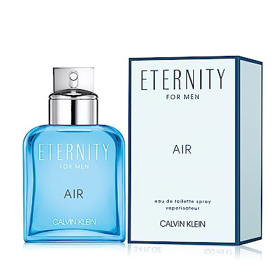 Calvin Klein CK Eternity Air 永恆純淨男性淡香水30ml