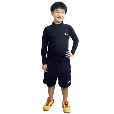 X MOMENT 長袖排汗防曬機能衣 (黑) - XM01BLK_HLG