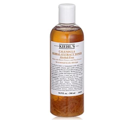 KIEHLS契爾氏 金盞花植物精華化妝水500ml+洗面乳30ml(隨機出)