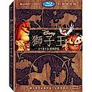 獅子王 1-3 BD+DVD (6碟)  藍光 BD