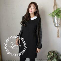 韓國早春新款甜美氣質洋裝