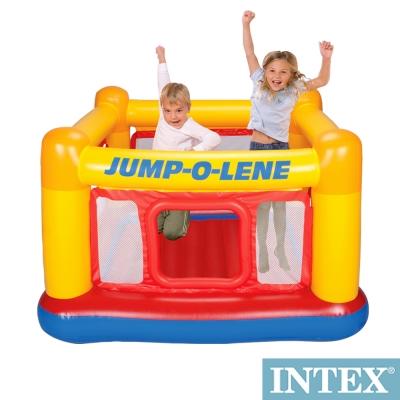 INTEX 充氣式跳跳床-擂台 JUMP-O-LENE-寬174cm