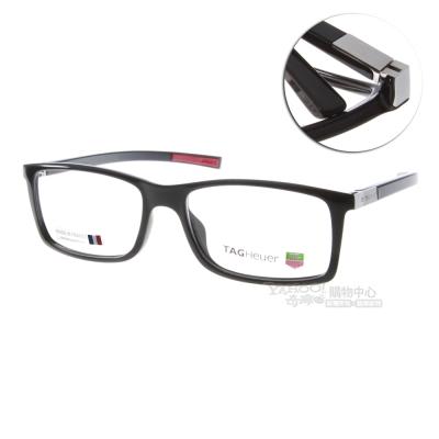 TAG Heuer 豪雅眼鏡 時尚造型/黑色#TH0511 002