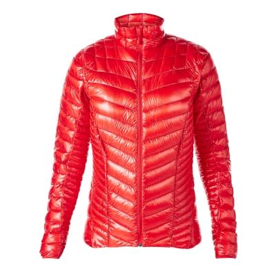 【Berghaus貝豪斯】女款頂級超輕溫度調節防潑水鵝絨外套F22FL9紅