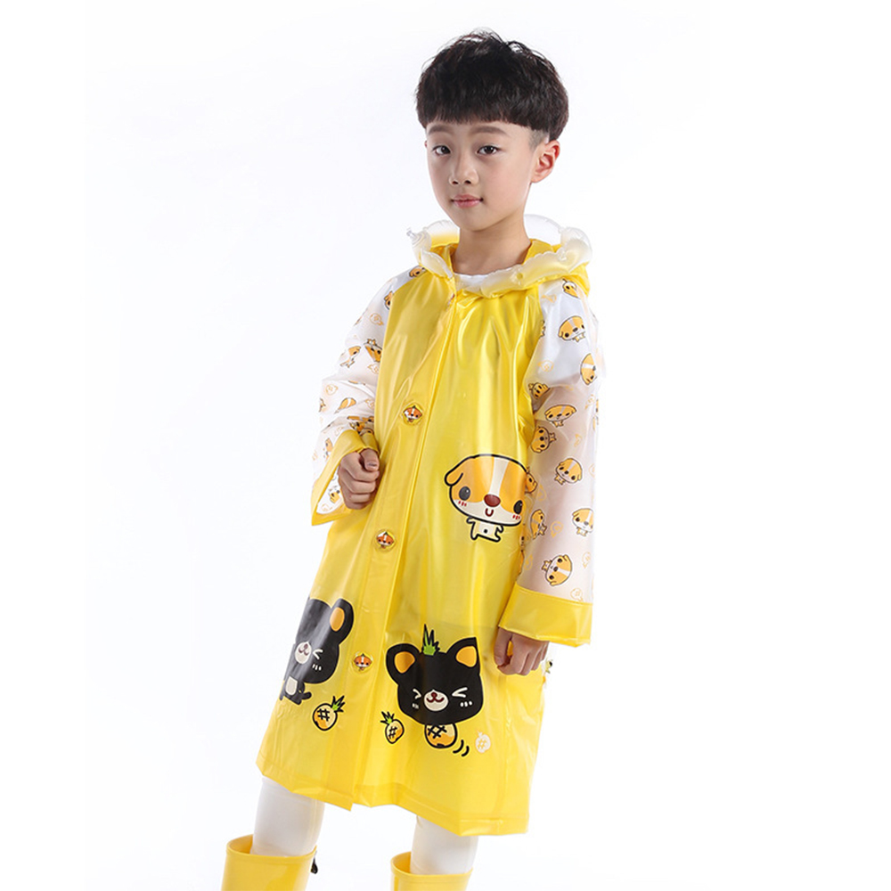 baby童衣 安全反光條兒童雨衣書包位 y7035