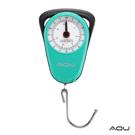 AOU 旅行機械式行李秤多功能免電池超耐用 (湖水藍) 66-032