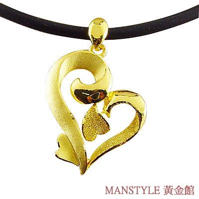 Manstyle「愛的交響曲」黃金墜