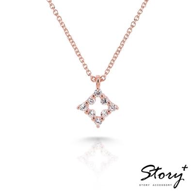 STORY-Star晶鑽系列-FairyStar 純銀晶鑽項鍊
