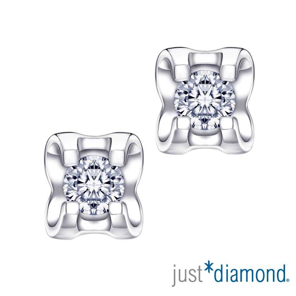 Just Diamond The Arch香榭凱旋門系列18K金鑽石耳環