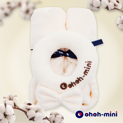 【ohoh-mini 孕婦裝】有機棉甜甜圈安撫巾