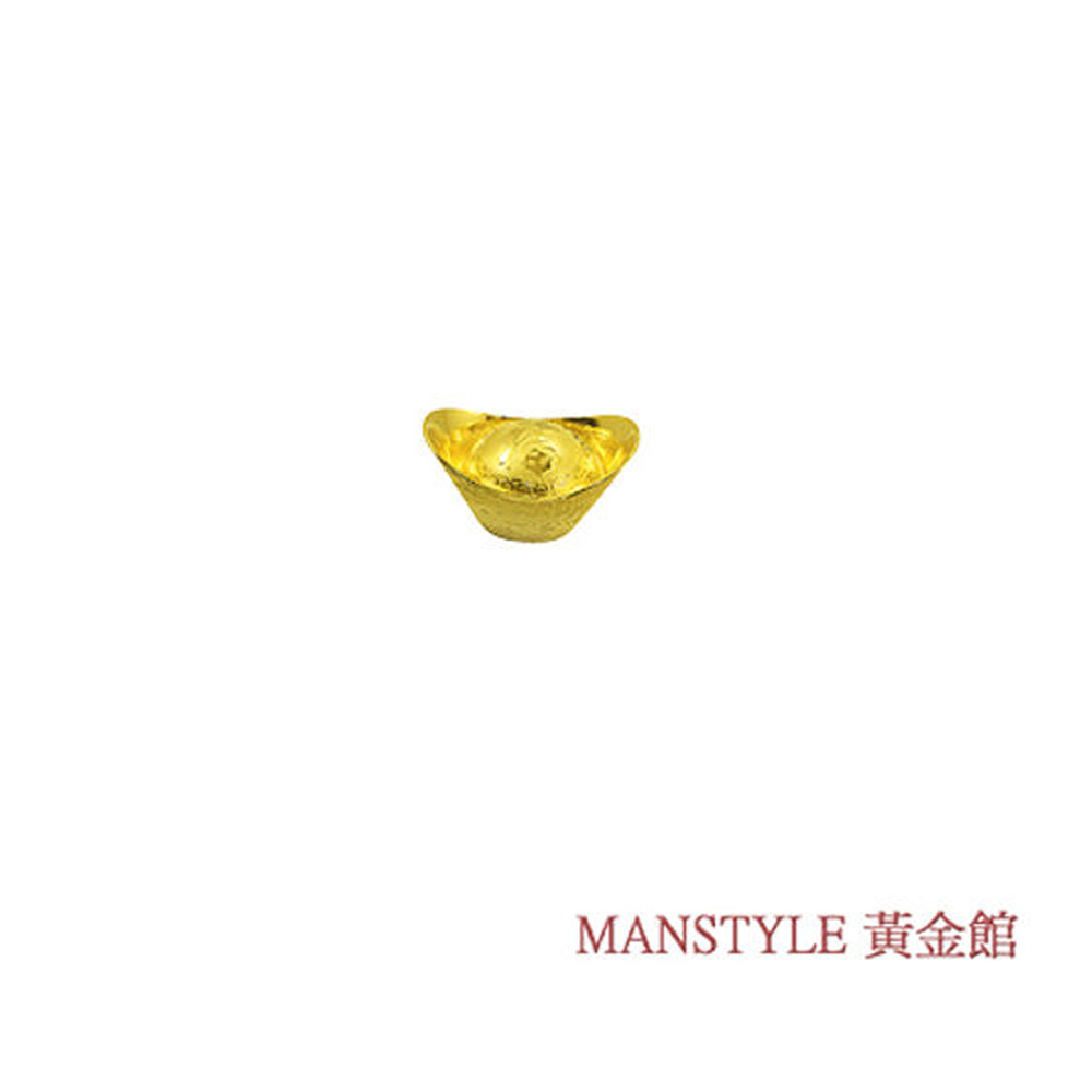 MANSTYLE 福字黃金元寶 (0.5錢)