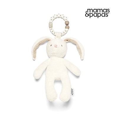 【Mamas & Papas】小邦妮(搖鈴吊飾玩偶)