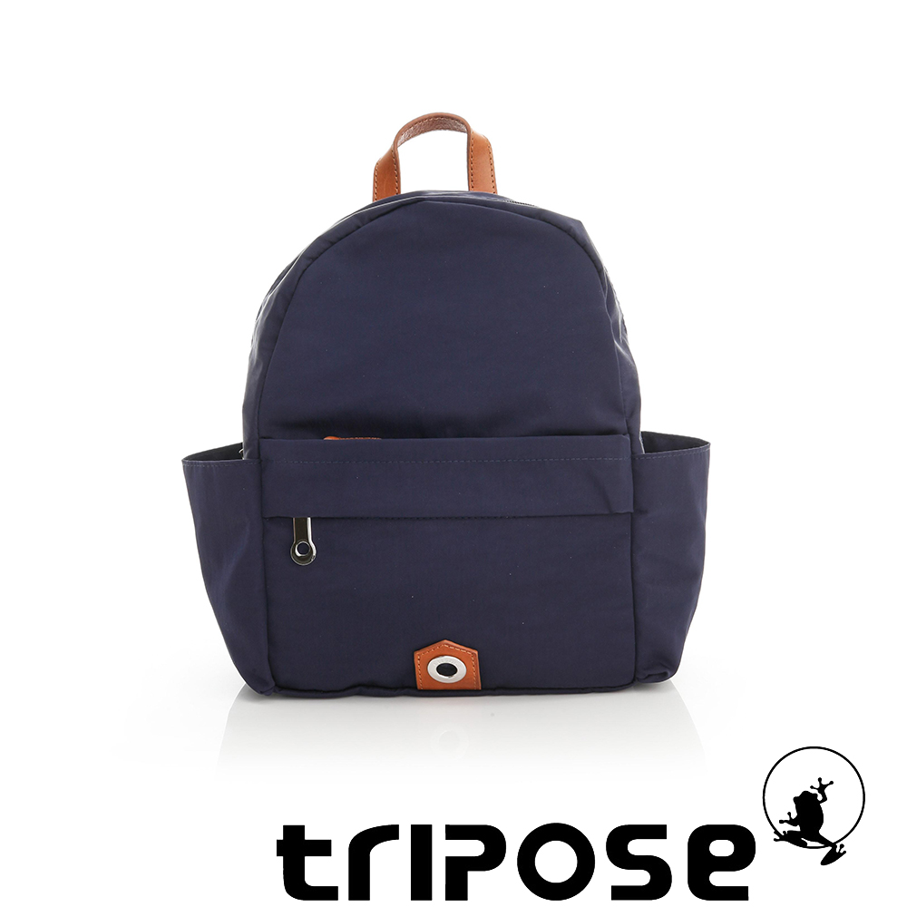 tripose MOVE系列側口收納機能後背包 藍
