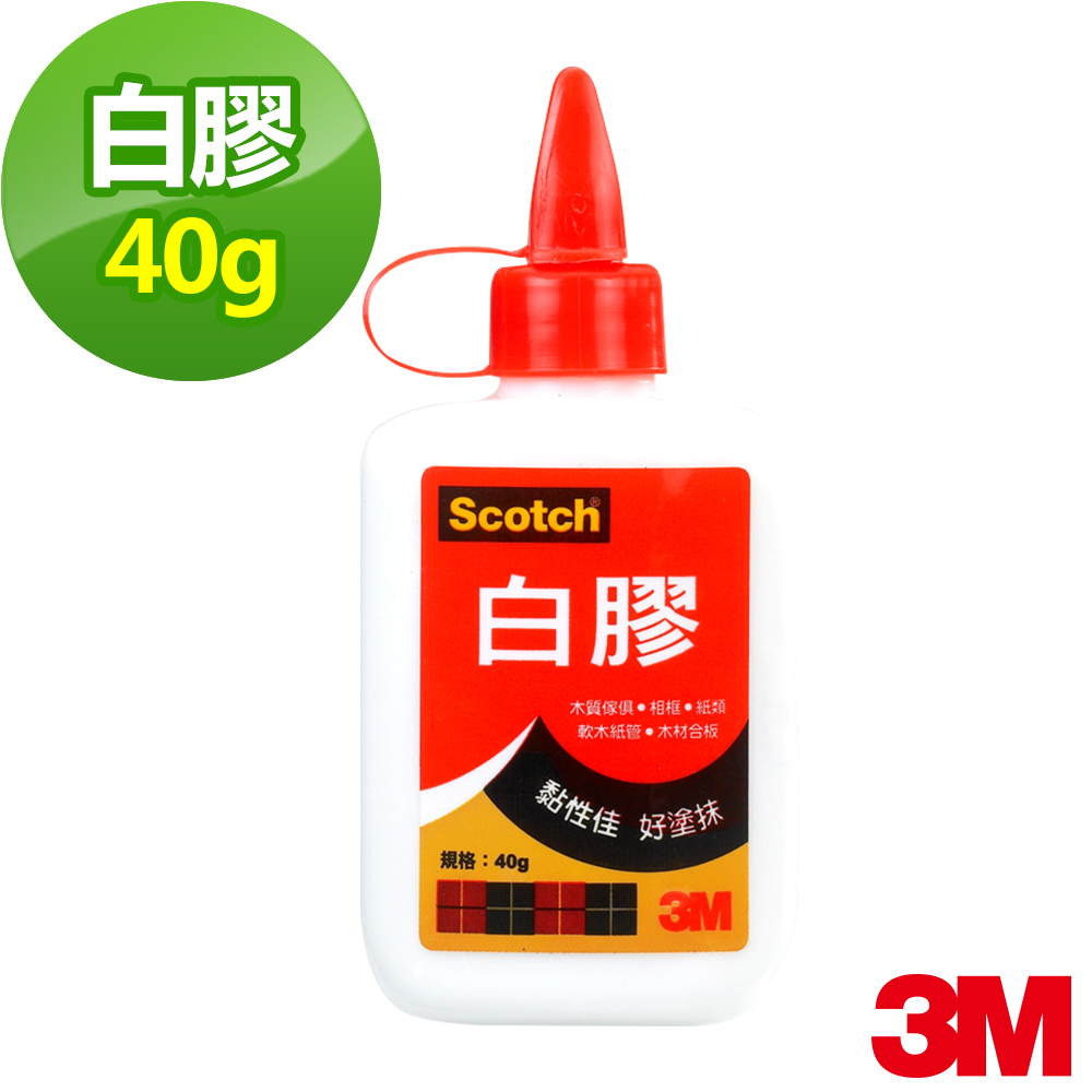 3M SCOTCH 白膠 40g