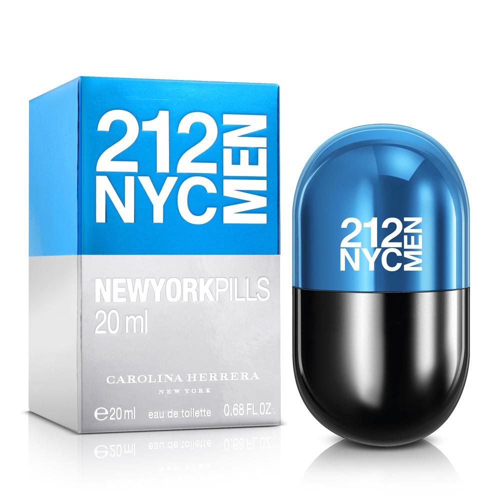 Carolina Herrera 212 MEN 男性淡香水紐約小膠囊 20ml