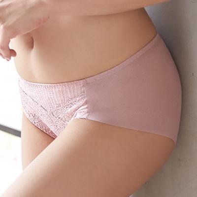 蕾黛絲-親膚好感挺素面搭配平口內褲M-EL(梅粉)