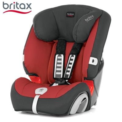 Britax 旗艦成長型汽車安全座椅 紅色