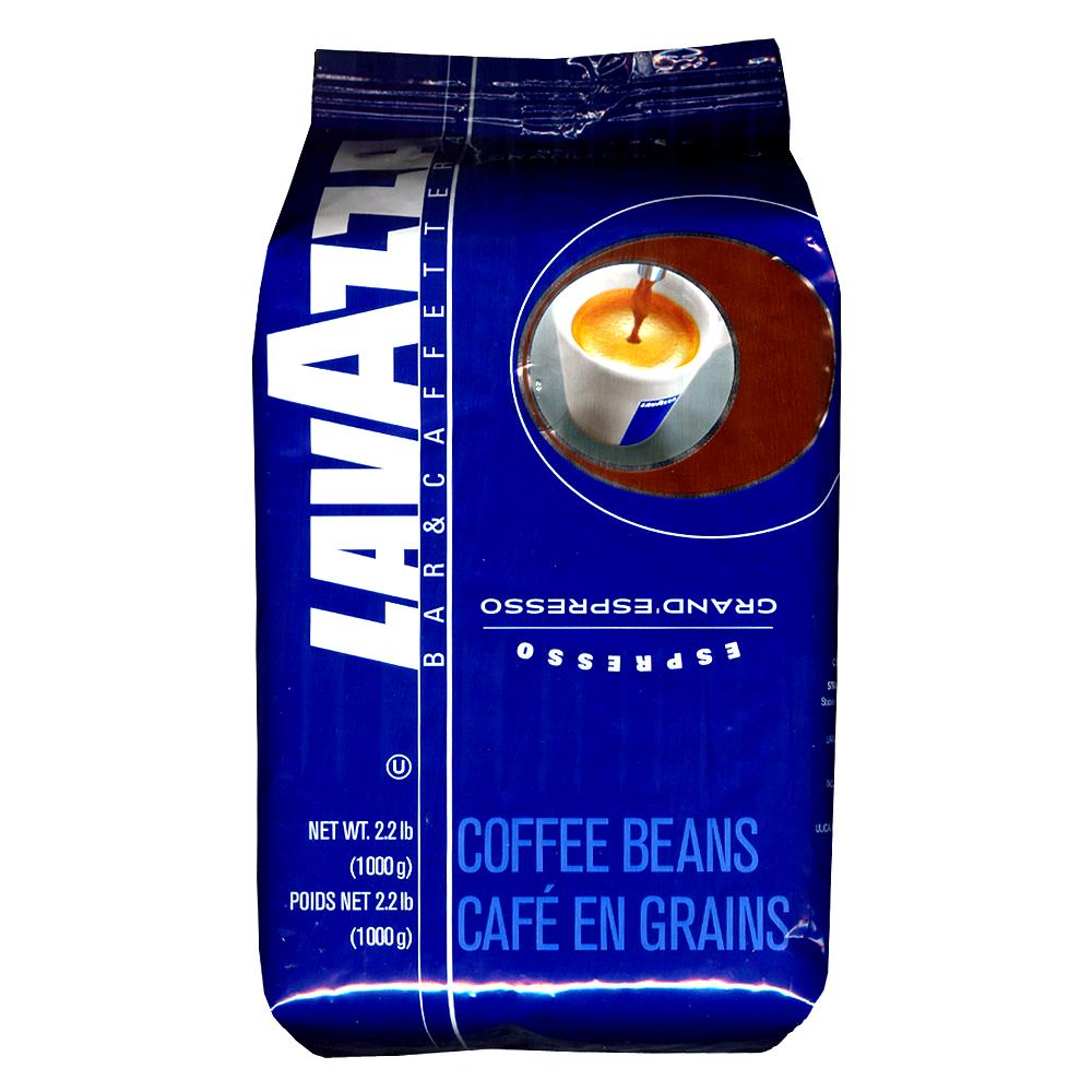 【LAVAZZA】GRAND ESPRESSO重味咖啡豆(1000g)