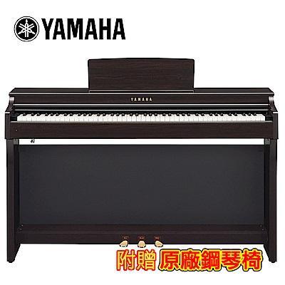 YAMAHA CLP-625 R 88鍵標準數位電鋼琴 深玫瑰木色款