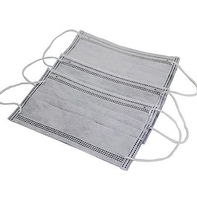 OMAX四層活性碳口罩100入(共2包裝)-8H