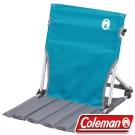 Coleman CM7672_天空藍-地板椅 /低座椅/戶外野餐椅/摺疊椅/休閒椅/合室椅
